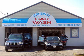 Freeway Car Wash - Pawtucket